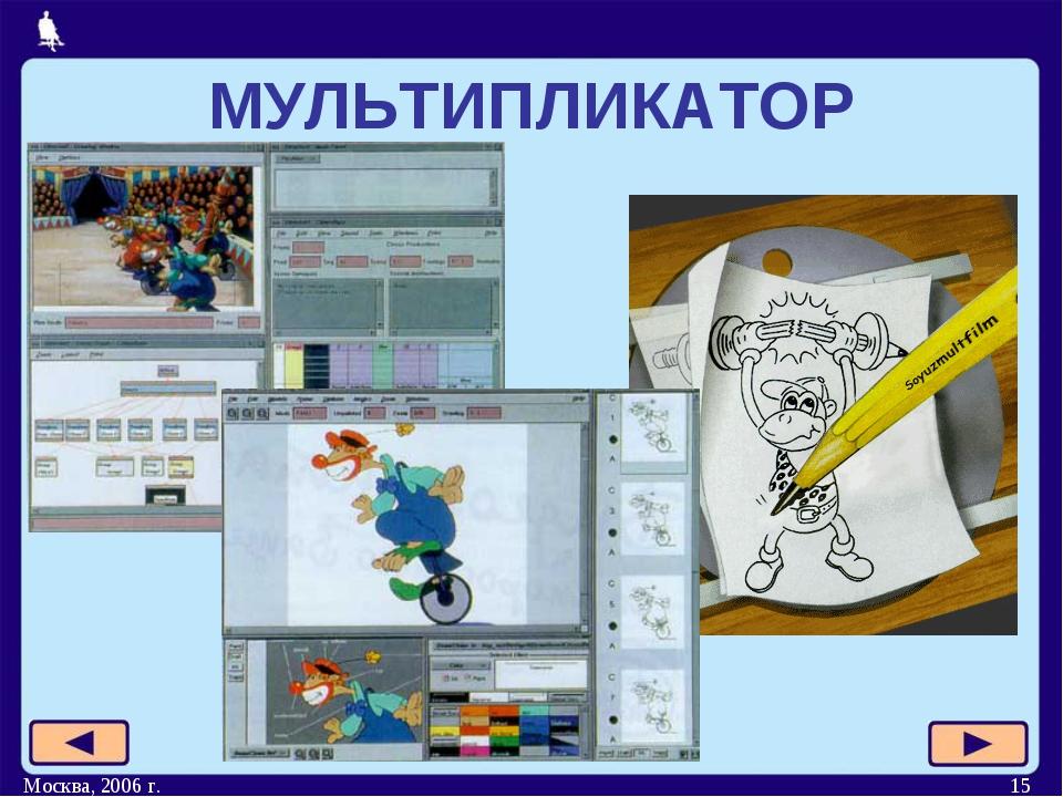 Москва, 2006 г. * МУЛЬТИПЛИКАТОР Москва, 2006 г.