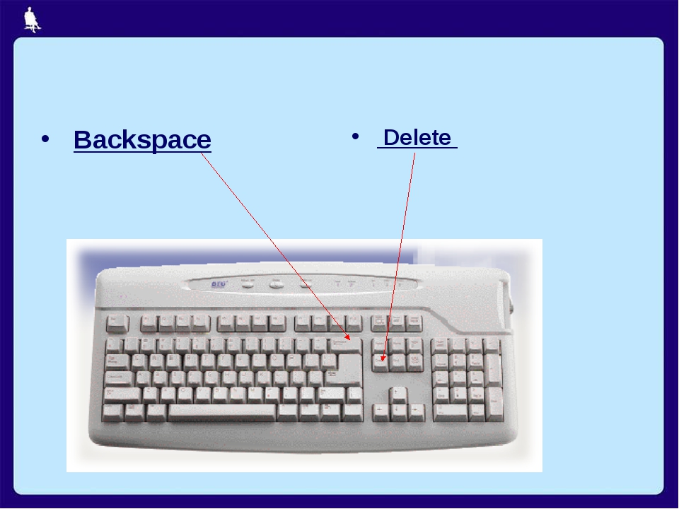 Backspace Delete