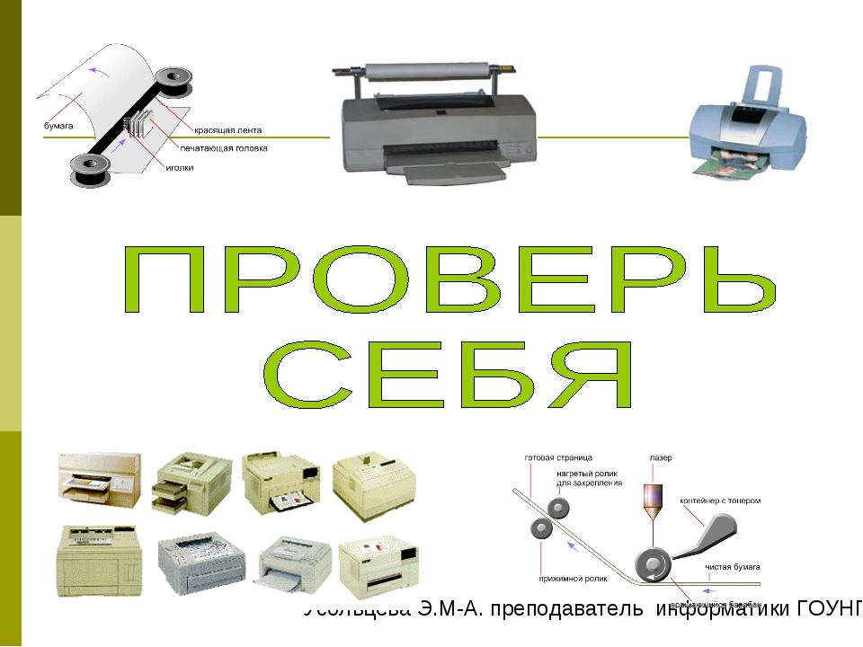Усольцева Э.М-А. преподаватель информатики ГОУНПО КПУ