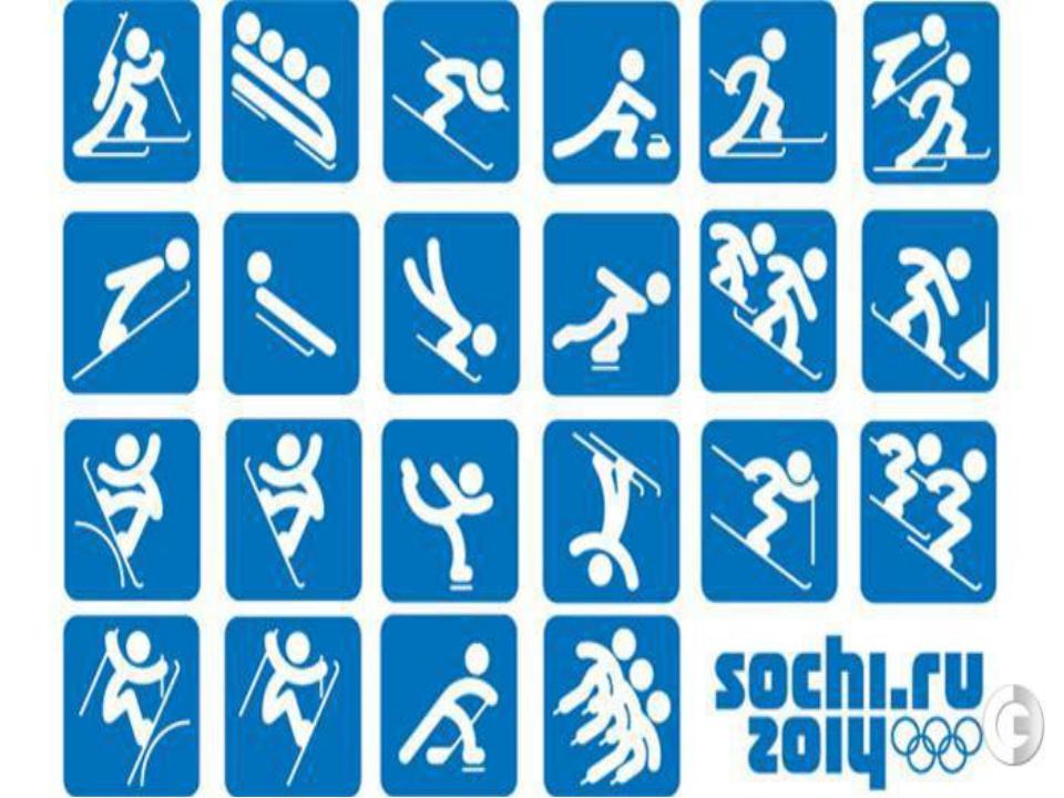 Виды спорта олимпийских игр в картинках