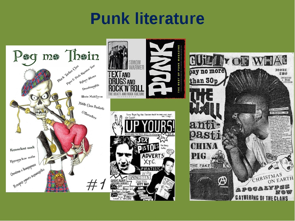 Punk literature