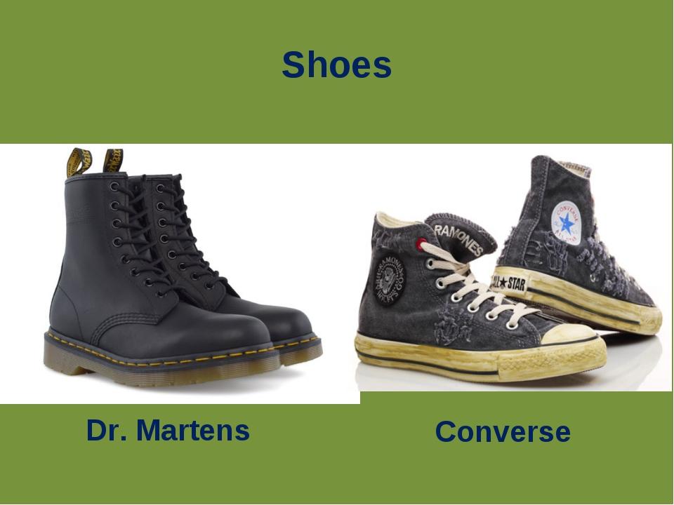 Shoes Converse Dr. Martens