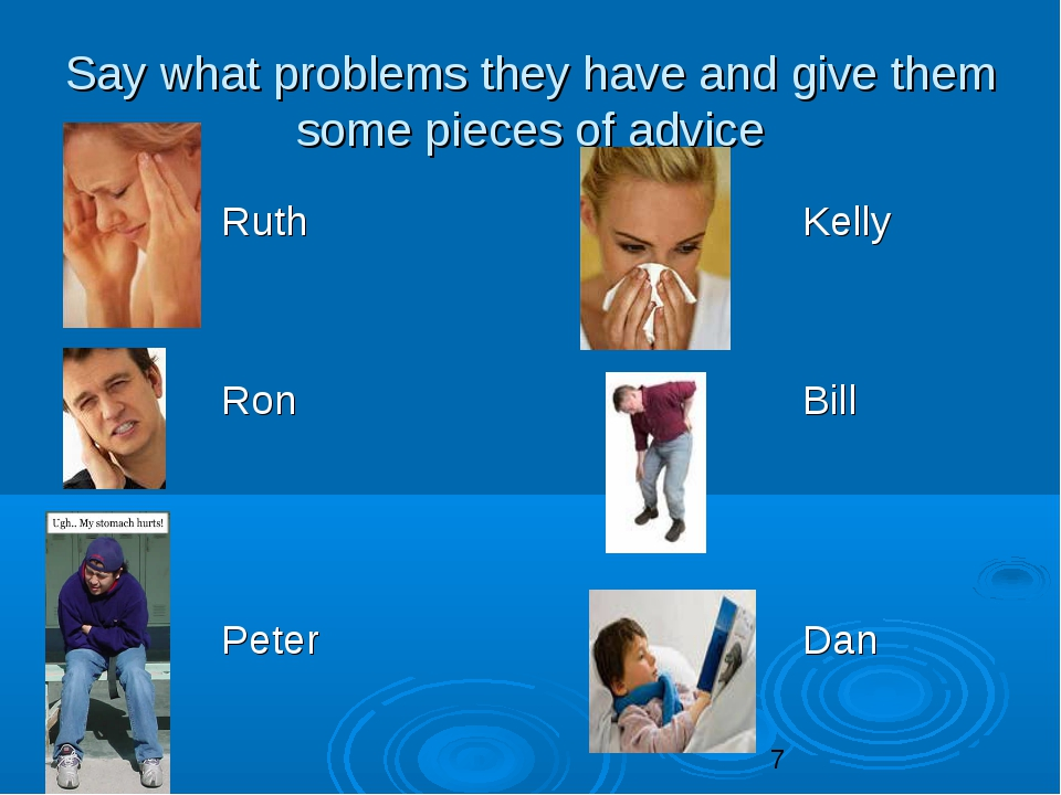 Say what problems they have and give them some pieces of advice  Ruth Kelly...
