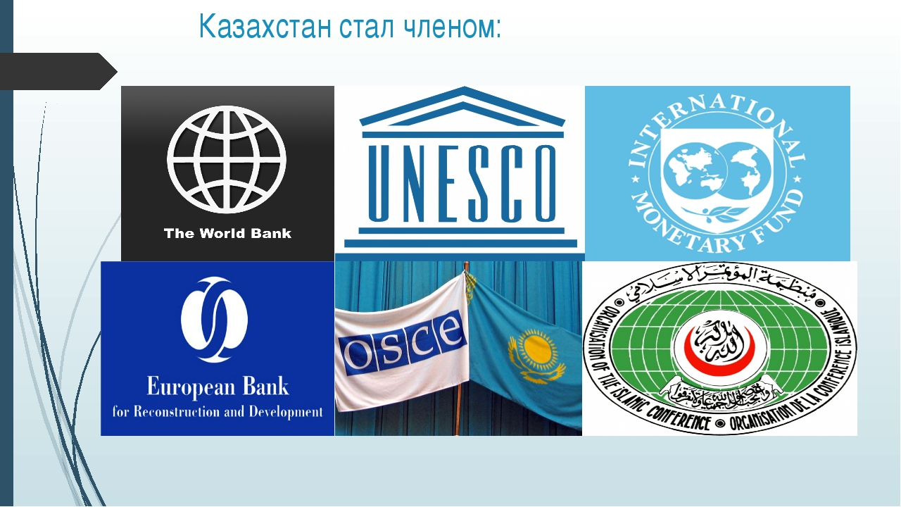 Казахстан стал членом: