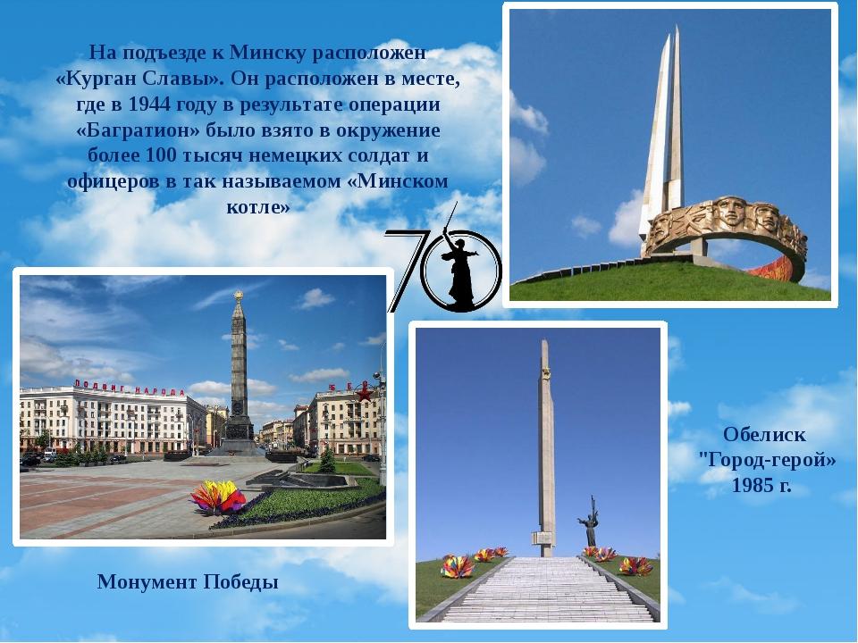 Обелиск Неизвестному матросу на Аллее Славы Памятник лётчикам-героям 69-го ис...