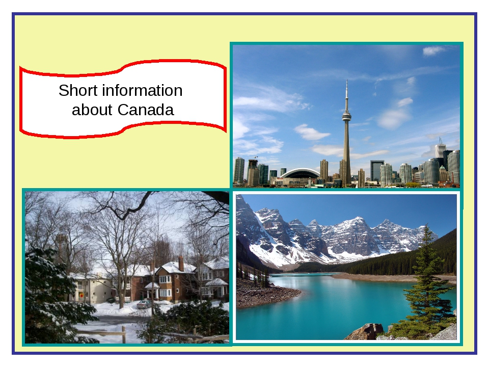Short information about Canada