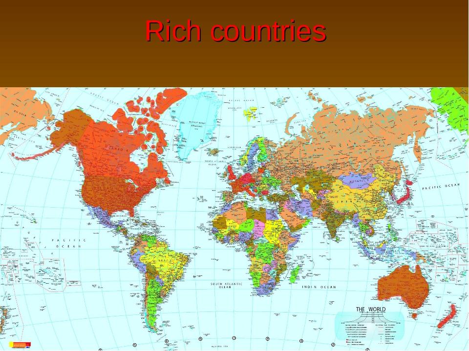 Rich countries