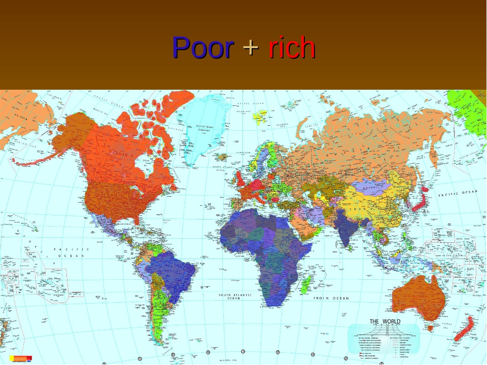 Poor + rich