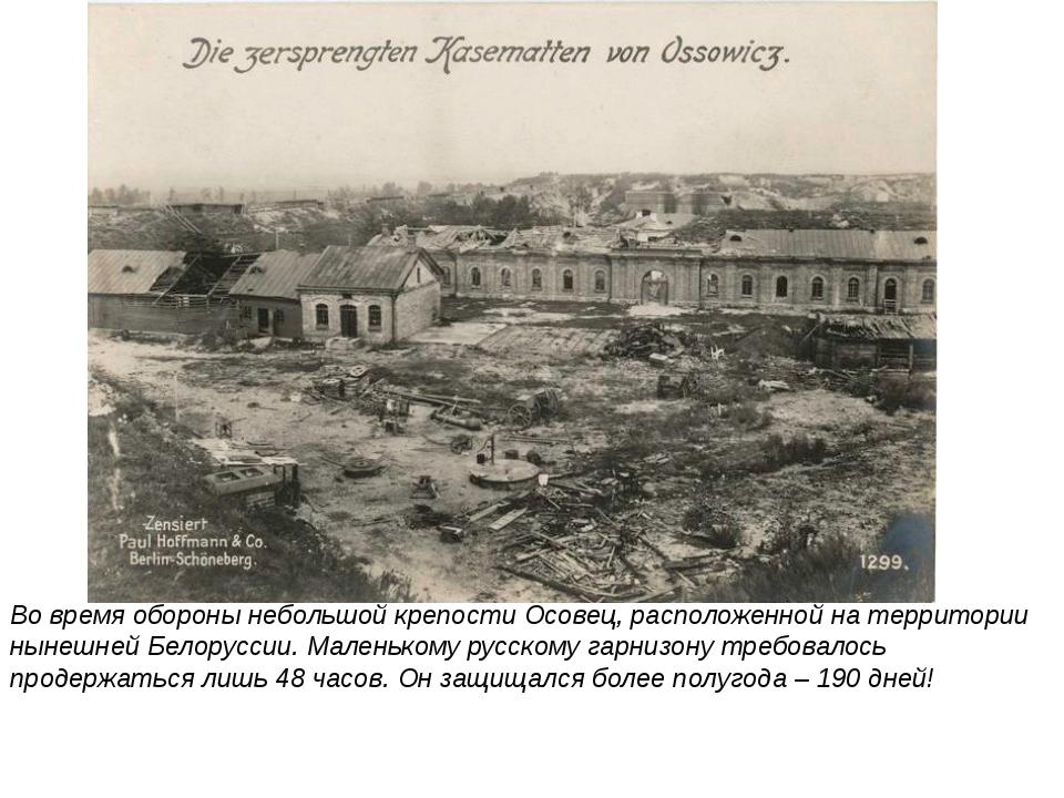 Немцы применили против защитников крепости все новейшие оружейные достижения...