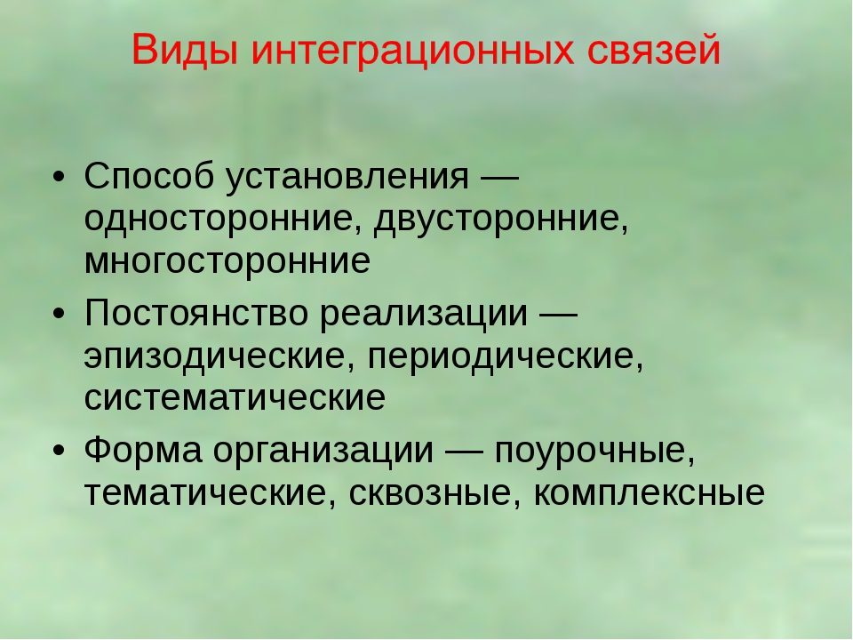 Способ установления — односторонние, двусторонние, многосторонние Постоянство...