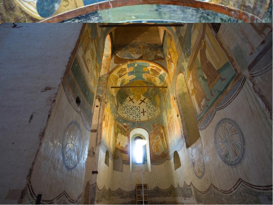 Ферапонтов монастырь с фресками Диониса