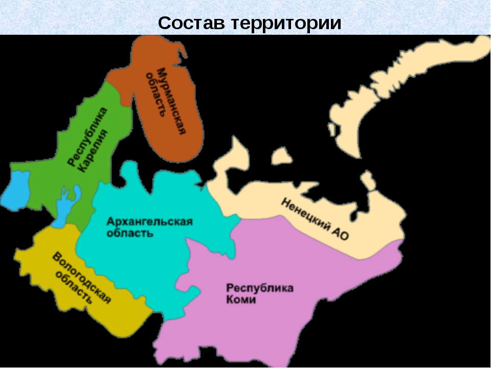 Состав территории