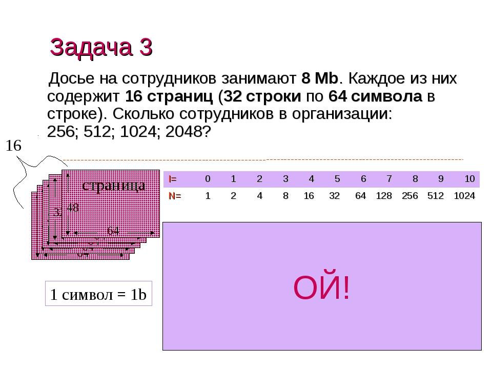 Досье на сотрудников занимают 8 Mb. Каждое из них содержит 16 страниц (32 стр...