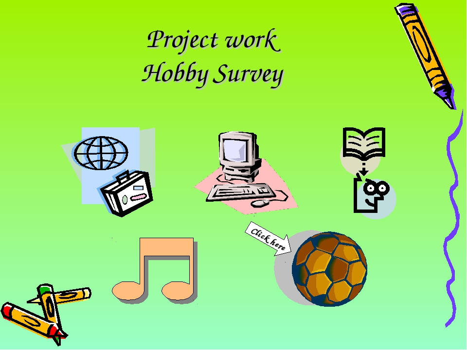 Project work Hobby Survey