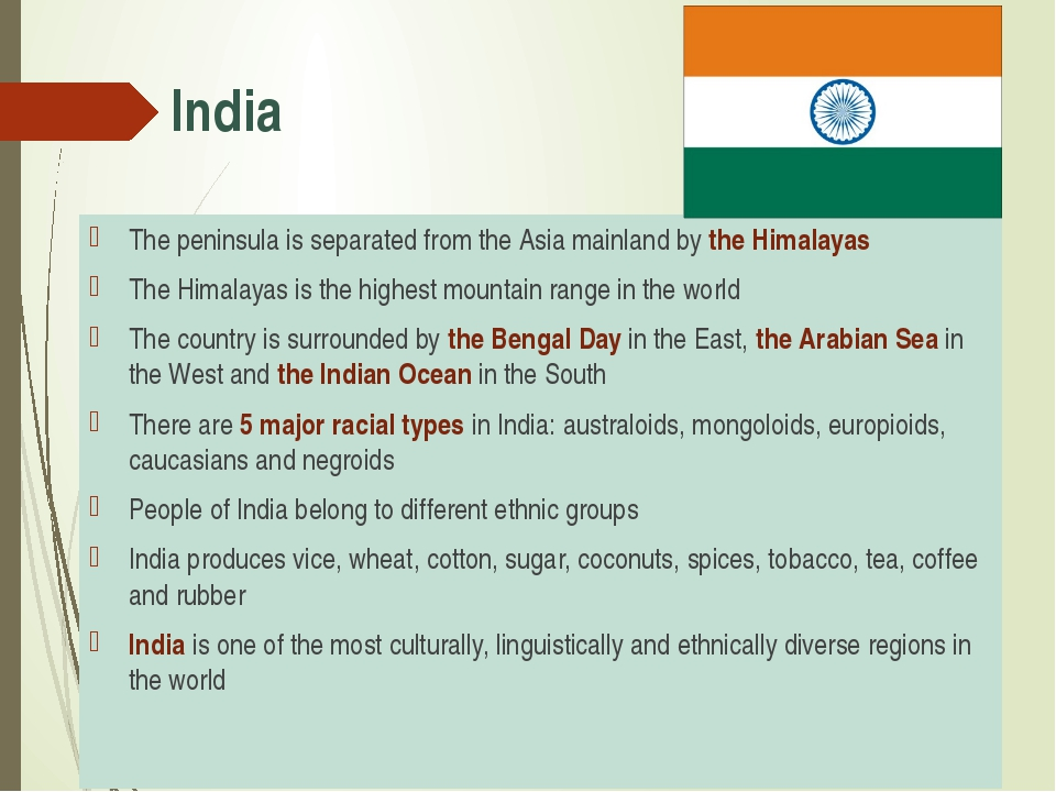 India The peninsula is separated from the Asia mainland by the Himalayas The...