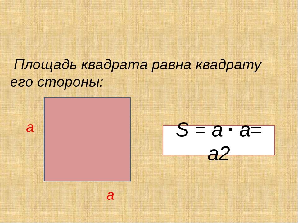 Площадь квадрата картинки для