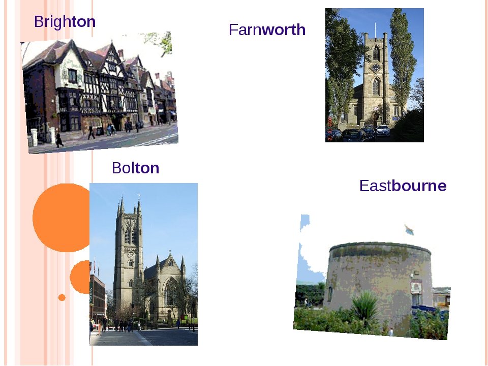 Brighton Eastbourne Bolton Farnworth