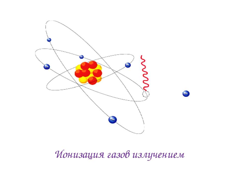 Ионизация газов излучением