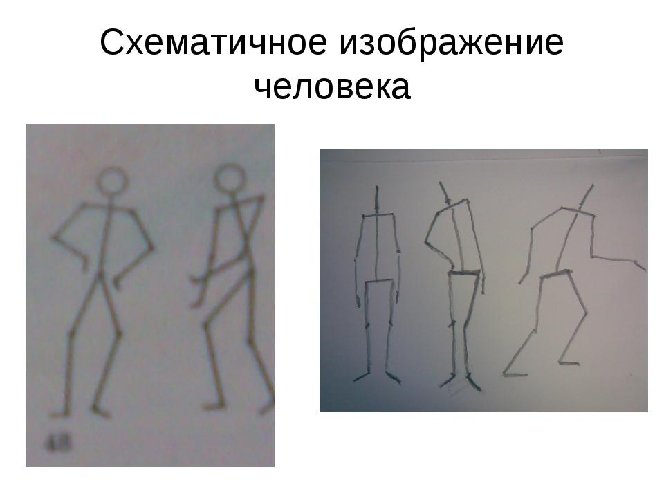Схематичное изображение человека