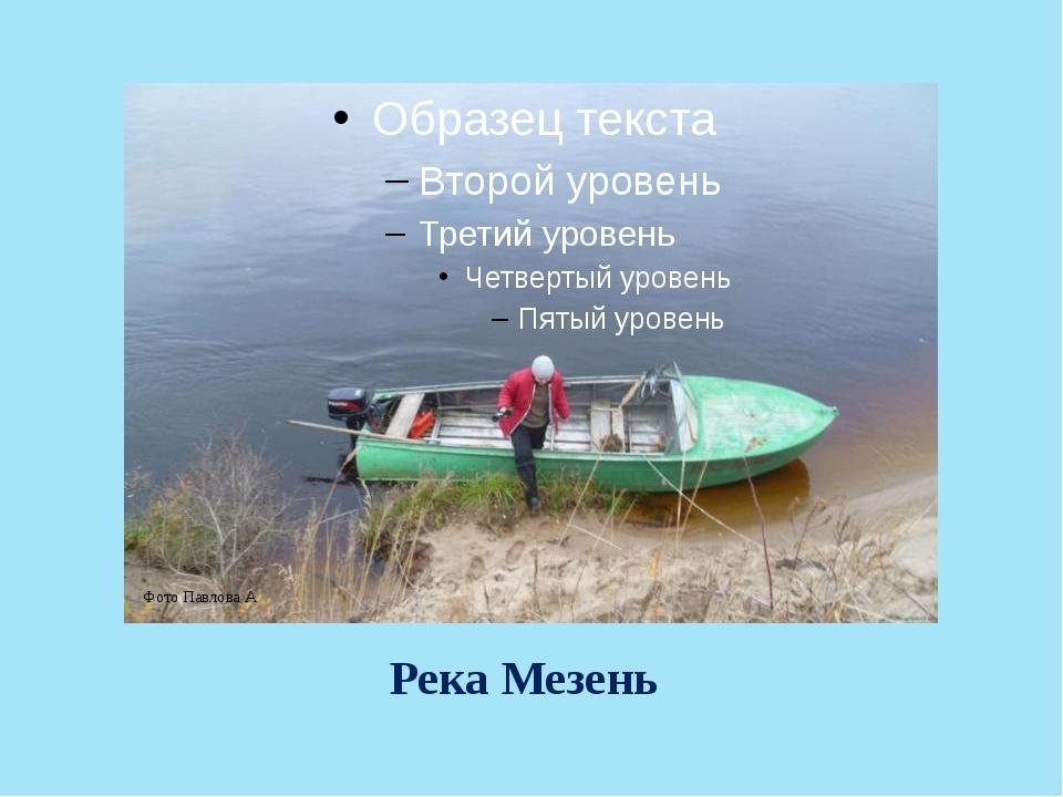 Река Мезень Фото Павлова А