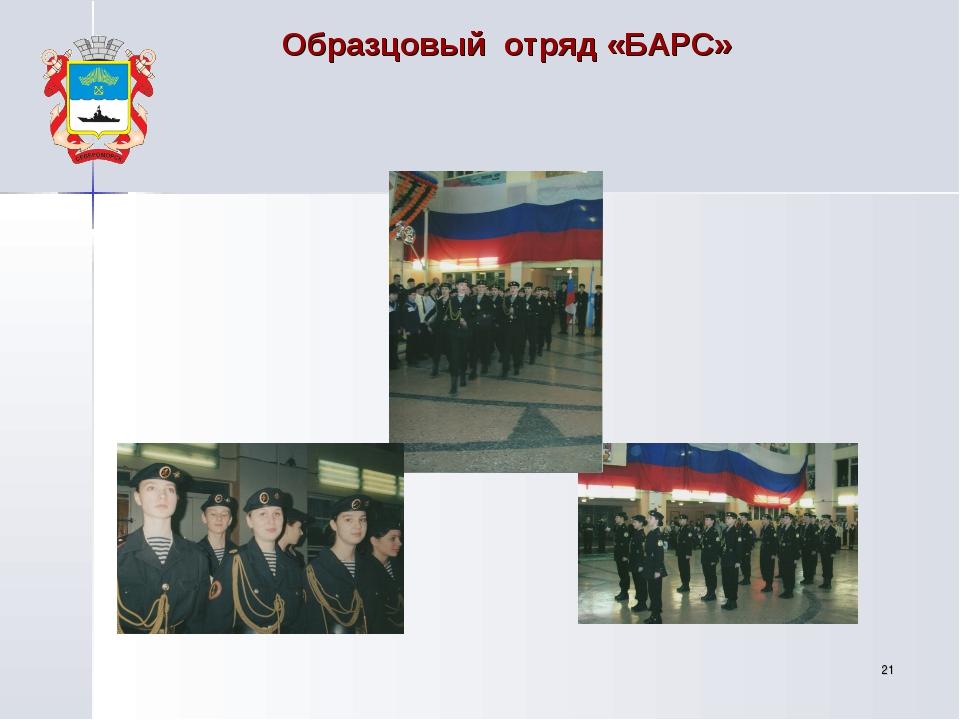 * Образцовый отряд «БАРС»