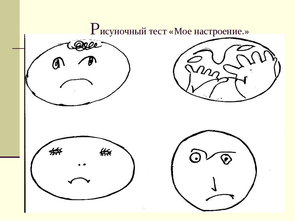 Тест на настроение картинки