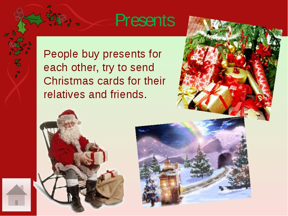 The Presents Wreath Подарки Венок On New Year's Day and at Christmas We can s...