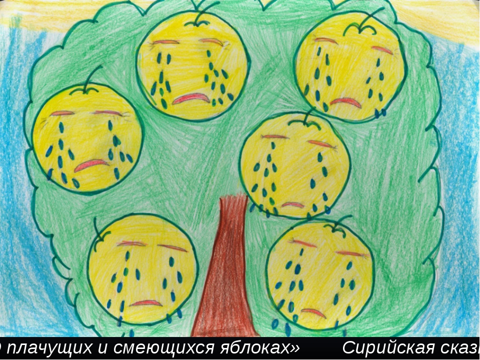 «О плачущих и смеющихся яблоках» Сирийская сказка
