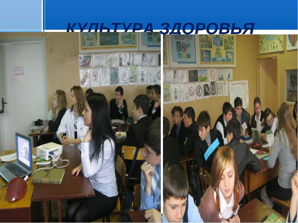 КУЛЬТУРА ЗДОРОВЬЯ Стр. * 20.01.2006 Презентация