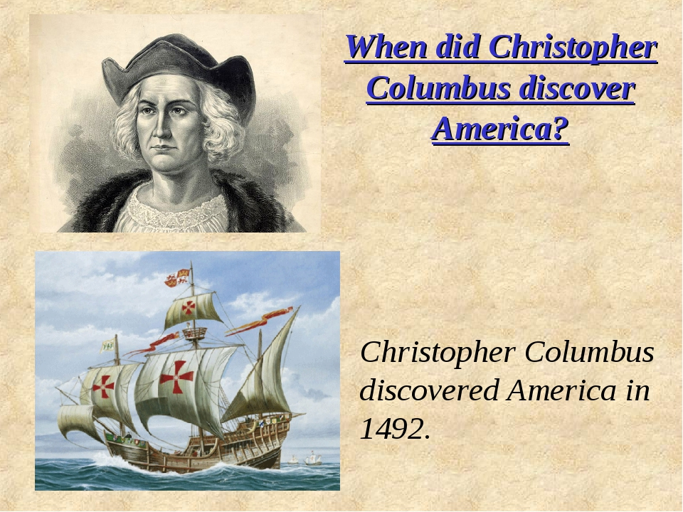 When did Christopher Columbus discover America? Christopher Columbus discover...
