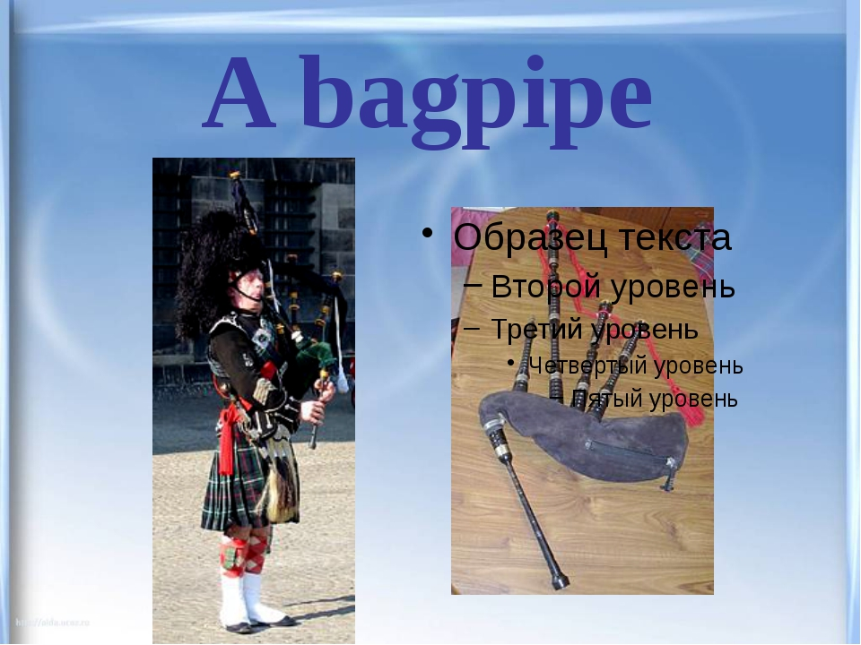 A bagpipe