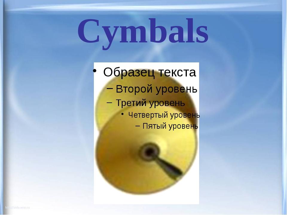 Cymbals