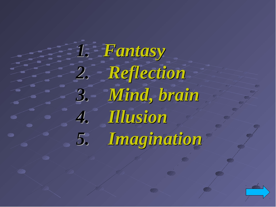 Fantasy Reflection Mind, brain Illusion Imagination