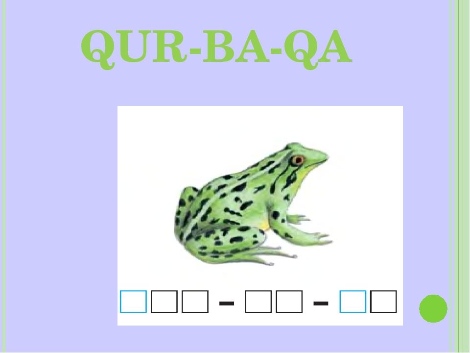 QUR-BA-QA