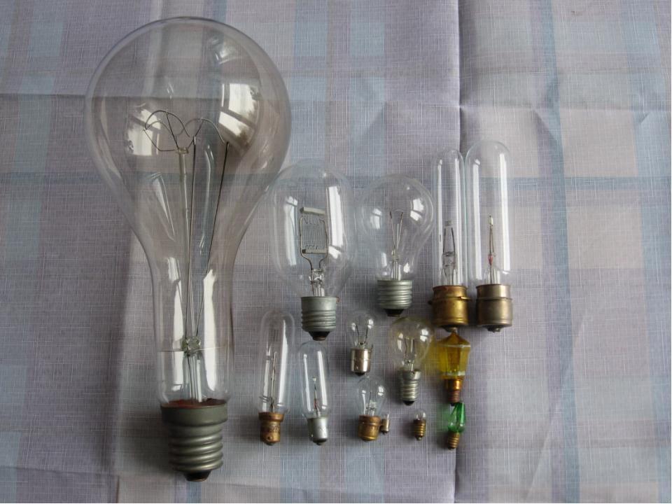 Современная лампа накаливания Современная промышленность выпускает более 2000...
