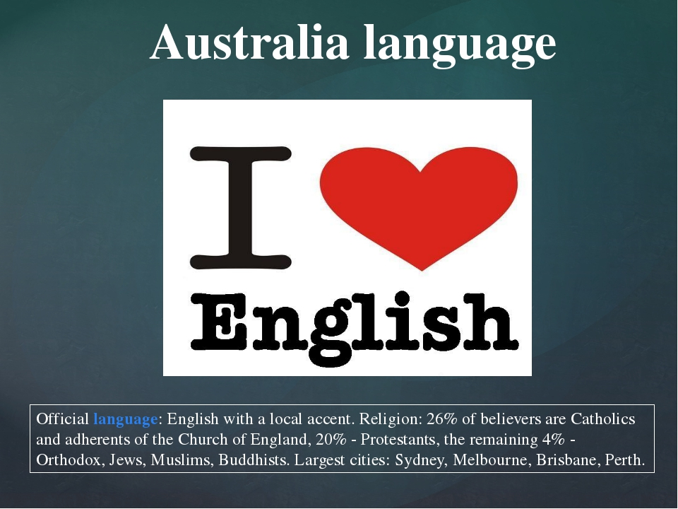 Official language: English with a local accent. Religion: 26% of believers ar...