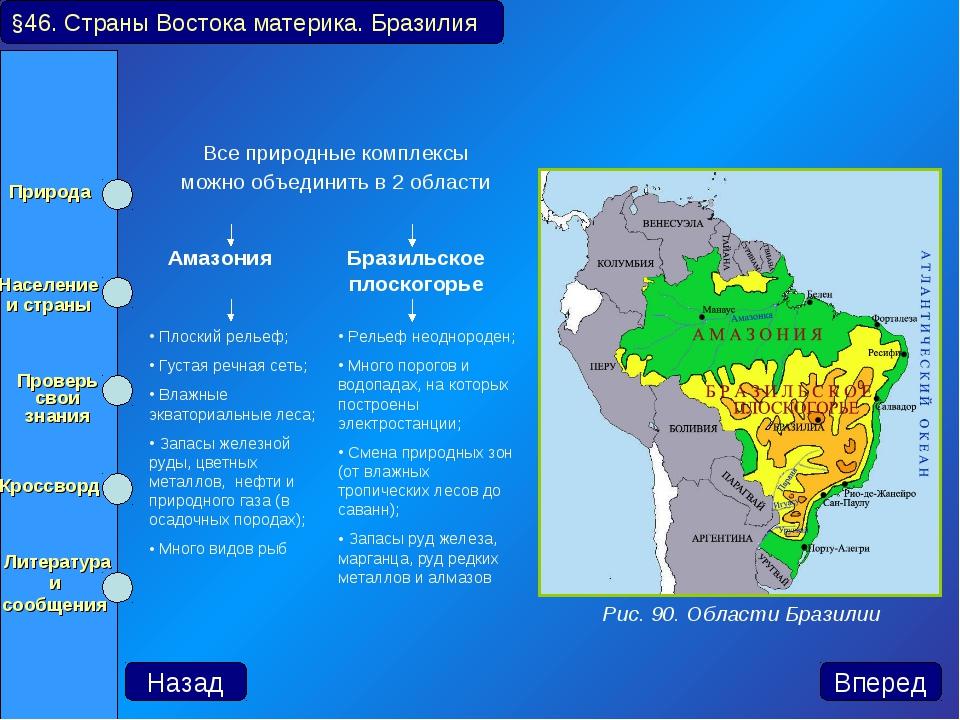 Все природные комплексы можно объединить в 2 области §46. Страны Востока мат...
