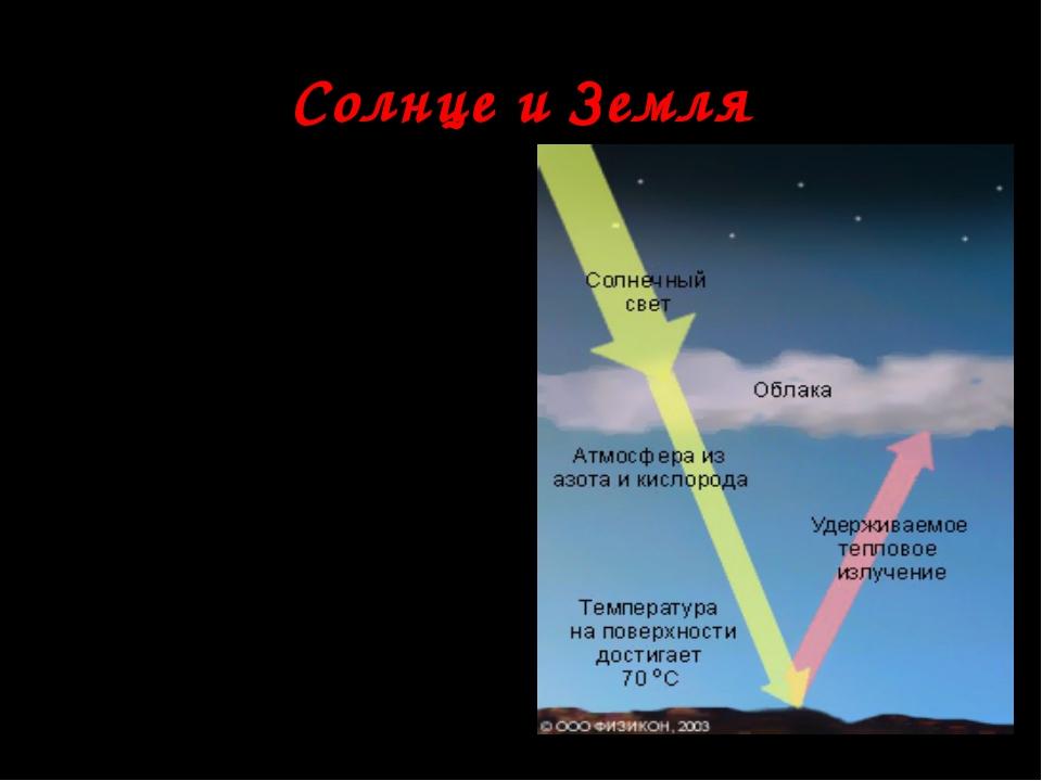 Солнце и Земля Солнце главный двигатель происходящих на Земле процессов. Солн...