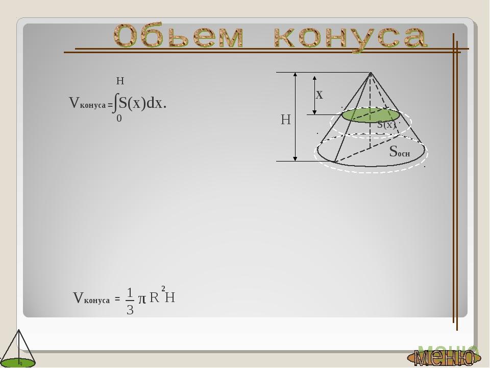 Vконуса