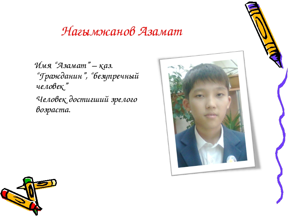 Казахские имена картинках
