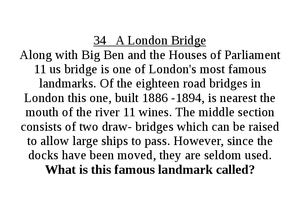 34 A London Bridge Along with Big Ben and the Houses of Parliament 11 us brid...