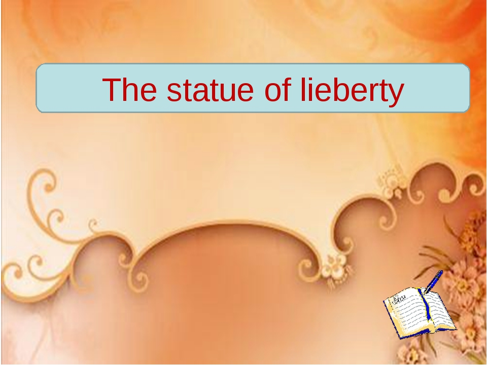 The statue of lieberty