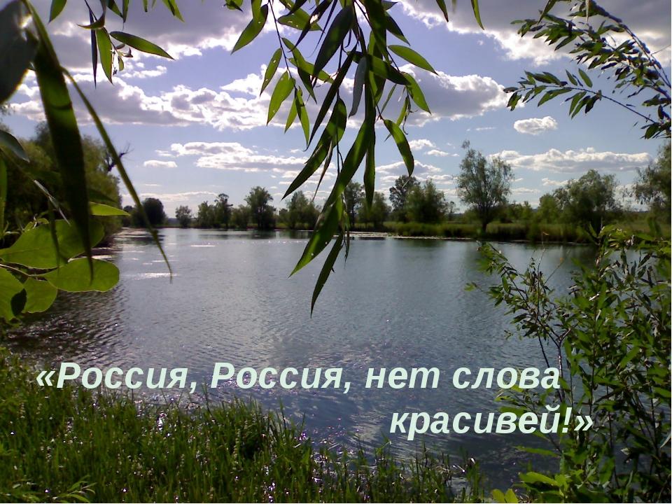 россия россия нет слова красивей текст песни