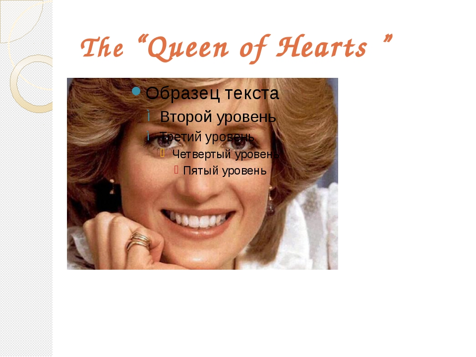 "The ""Queen of Hearts """