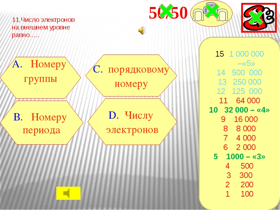 12.Формула нахождения массы В. N/n А. M*n С. NA* n Д. V/Vm 1 000 000 –«5» 14...