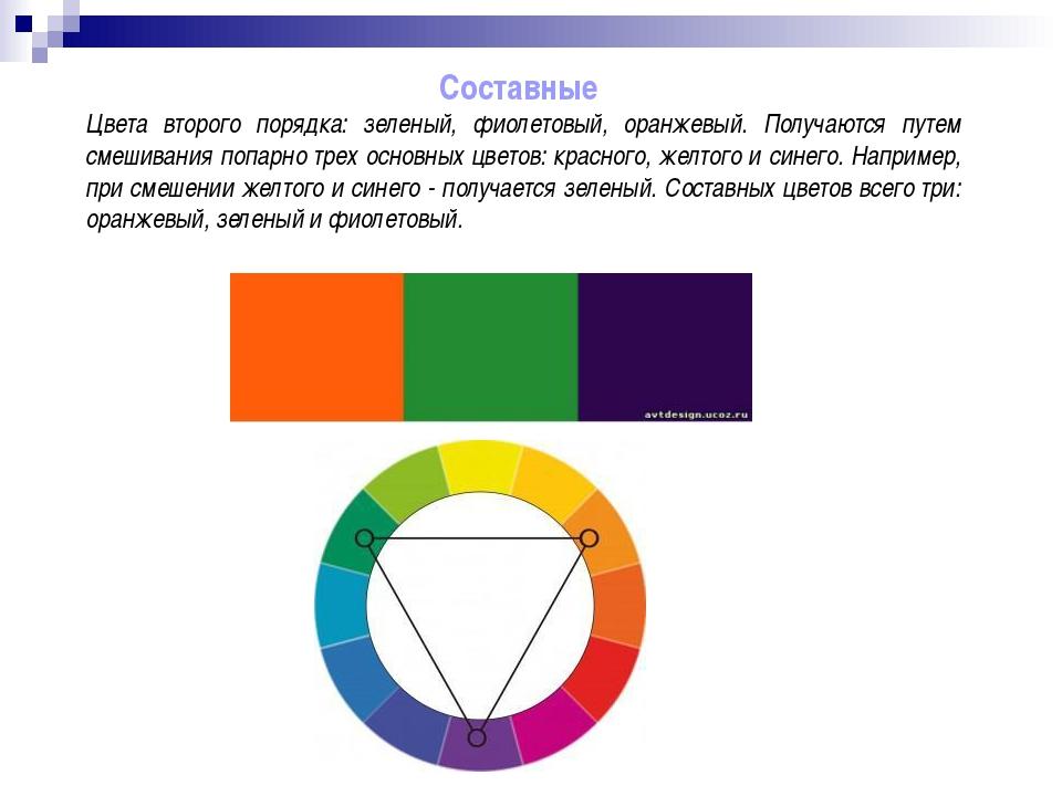 Попарно дополнительные цвета