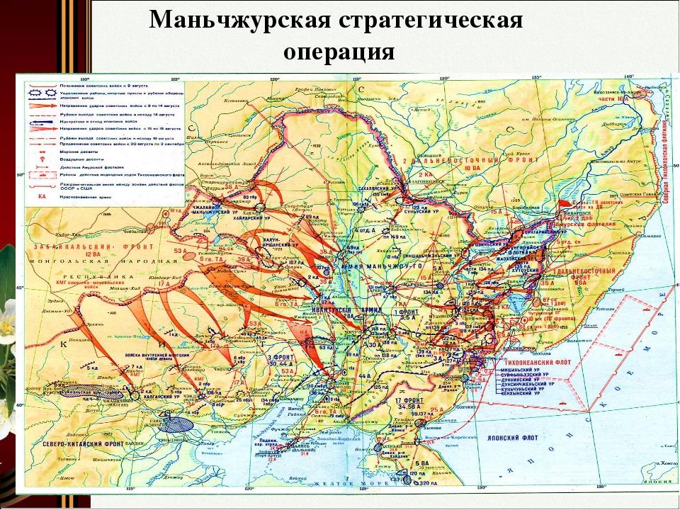 Маньчжурская стратегическая операция
