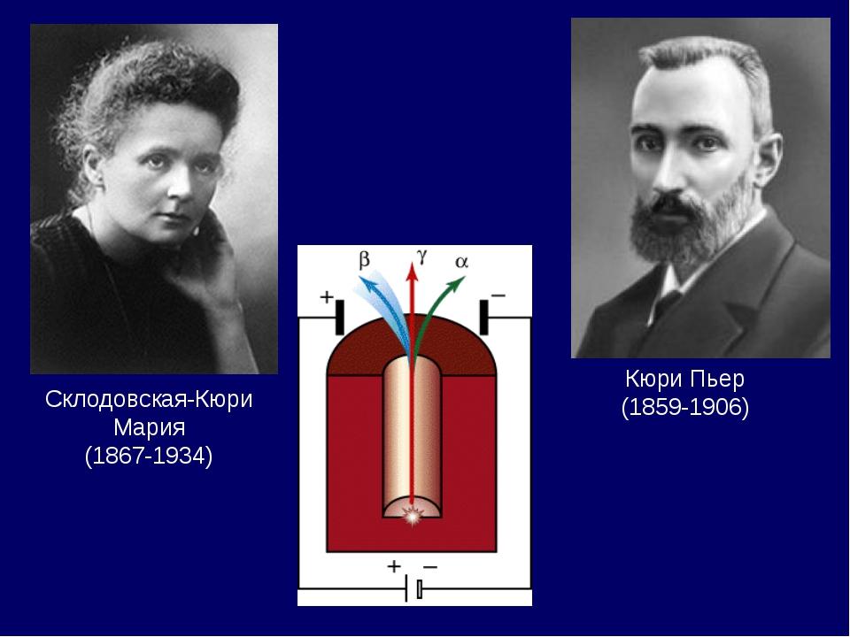 Склодовская-Кюри Мария (1867-1934) Кюри Пьер (1859-1906)