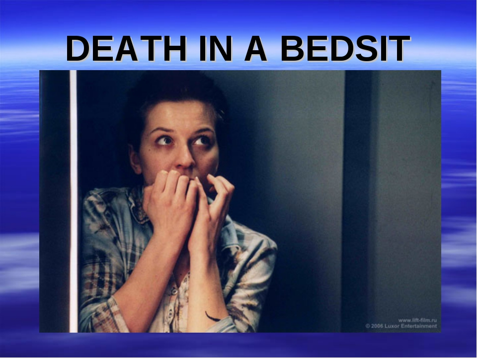 DEATH IN A BEDSIT