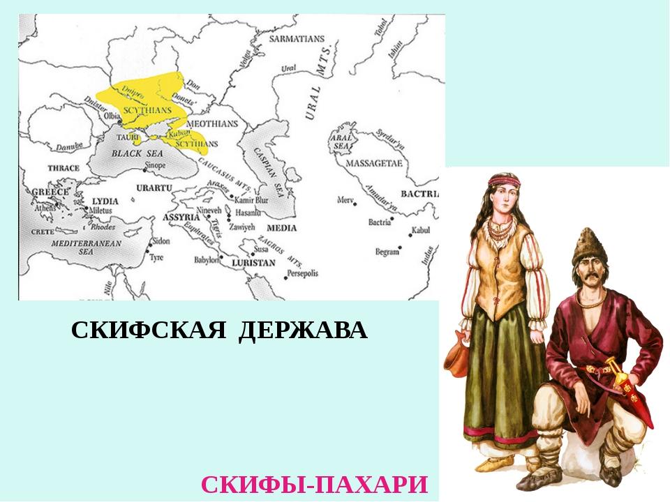СКИФСКАЯ ДЕРЖАВА СКИФЫ-ПАХАРИ